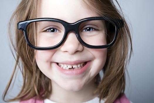 Новые очки у ребенка
