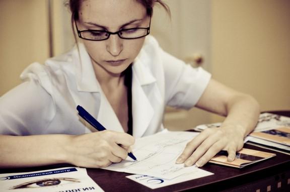 Назначение офтальмолога