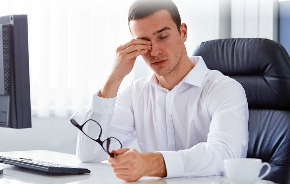 Усталость и красные глаза от компьютера