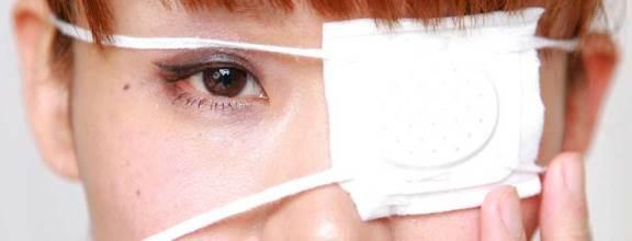 Результат ожога глаза