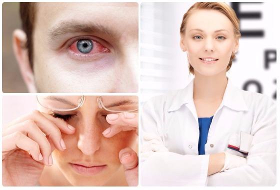 Советы при боли в глазах