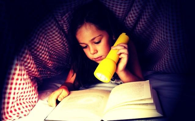 Чтение под одеялом