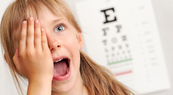 У ребенка проблема со зрением