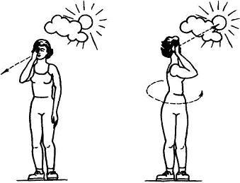 Упражнение при косоглазии