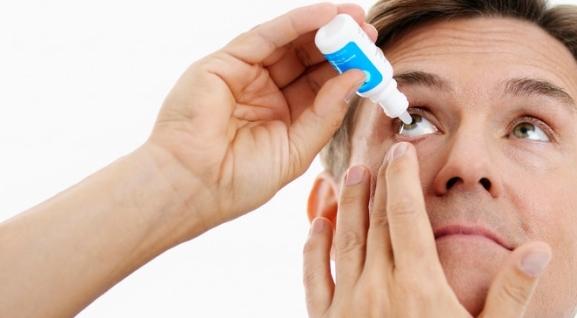 Использование капель при глаукоме