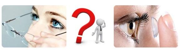 Что выбрать: очки или линзы?