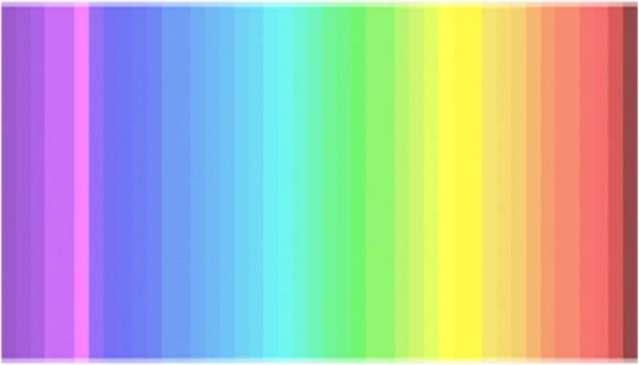 Тест по оттенкам спектра