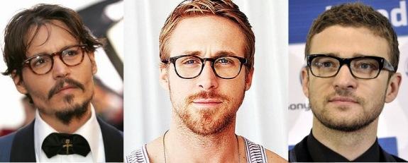 Известные актеры в очках