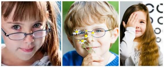 Детишки с нарушением зрения