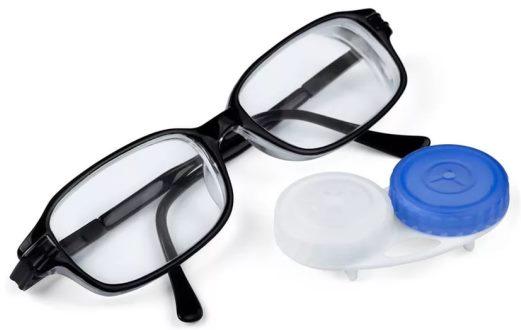 Очки и контактные линзы для глаз