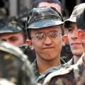 В армию служить